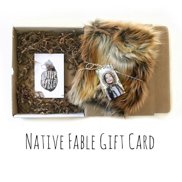 Native Fable Gift Card
