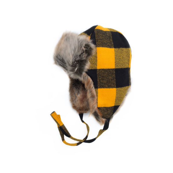 Fall 2018 - Mustard Buffalo Plaid