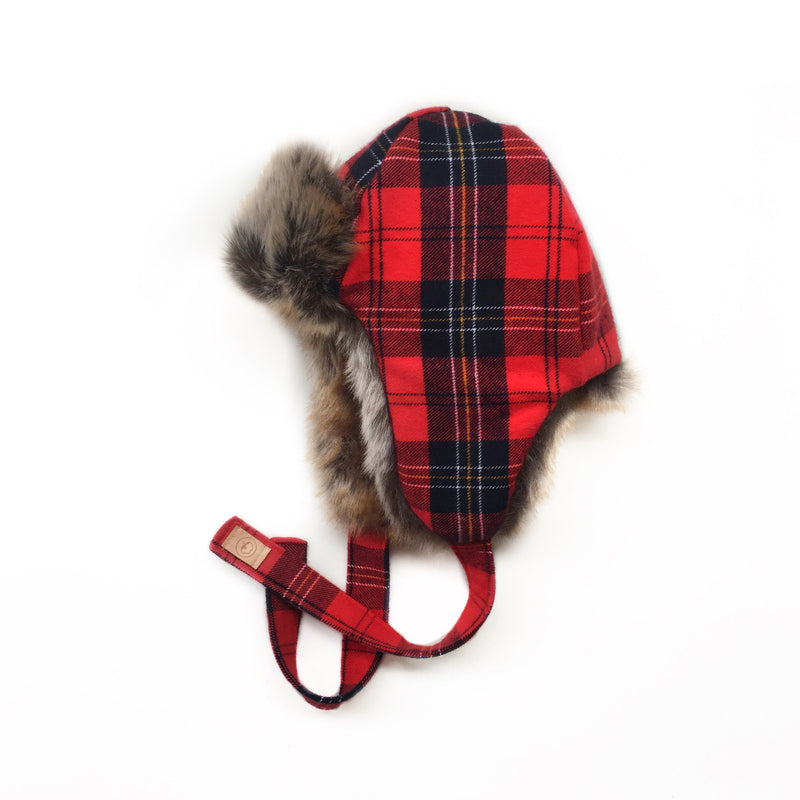 Scottish Plaid Trapper