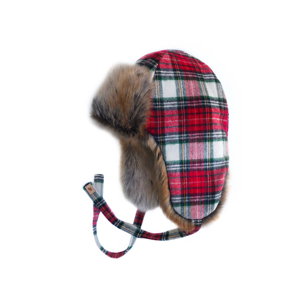 Christmas Plaid Trapper Winter '18