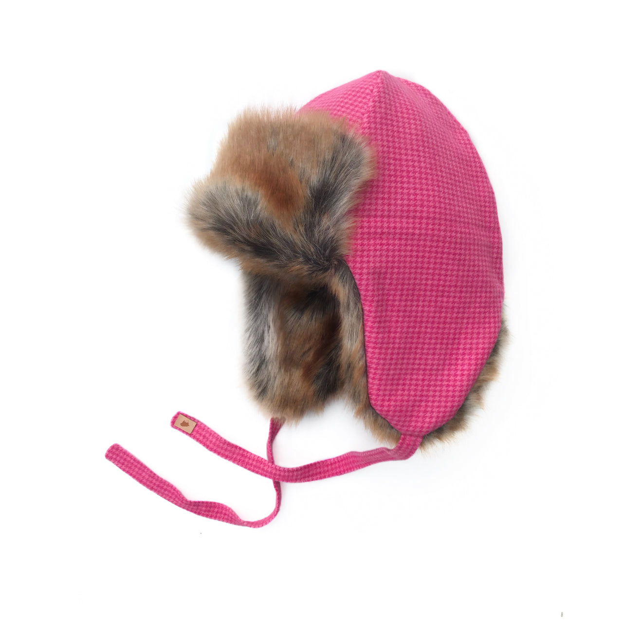 Hot Pink Trapper Hat - Exclusive