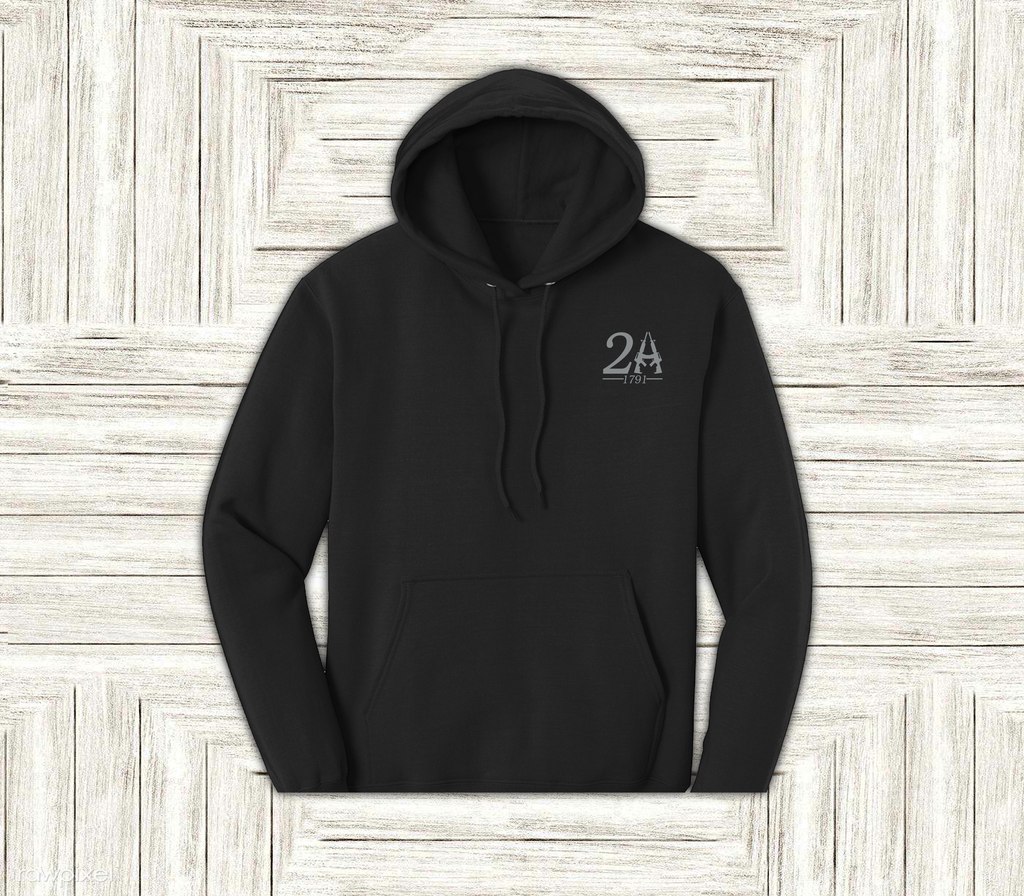 2nd Amendment Pullover Hoodie 7.8 Ounce