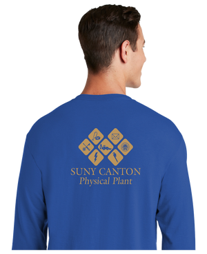 SUNY Canton Physical Plant Dri-Power® 50/50 Cotton/Poly Long Sleeve T-Shirt