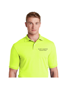 SUNY Canton Physical Plant SpotShield™ 5.6-Ounce Jersey Knit Sport Shirt