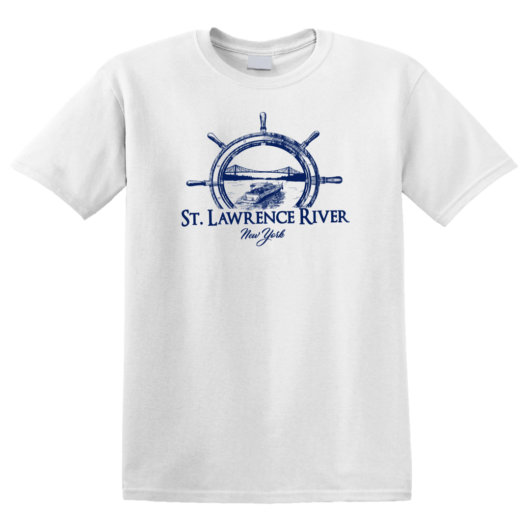 St. Lawrence River Boating T-Shirt