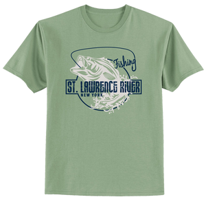 St. Lawrence River Fishing T-Shirt