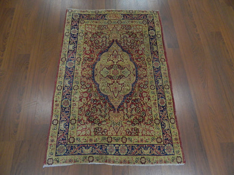 Antique Persian Kirman 3x4