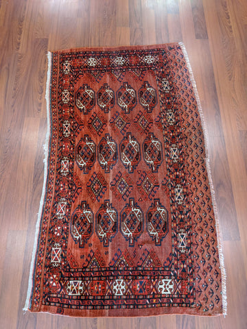 Antique Persian Turkoman 3x5