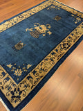 Antique Chinese Rug 4x7