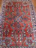 Antique 1920's Persian Sarouk 5x7