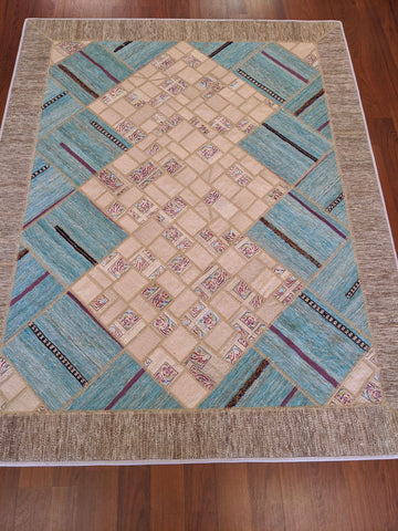 Persian Kilim with Backing 5x7