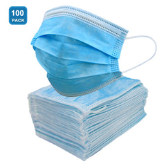3 ply face masks 100ct