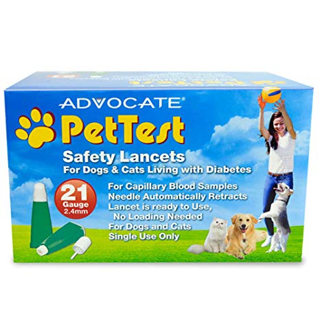 Advocate PetTest Safety Lancets - 21G x 2.4mm