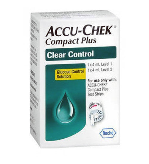 Accu-Chek Compact Plus Clear Control Solution Level 1 & Level 2
