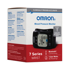 7 Series® Wireless Wrist Blood Pressure Monitor