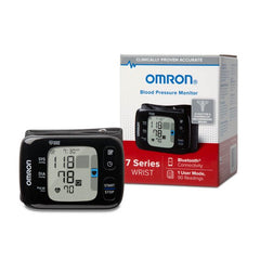 NEW Omron 7 Series Wireless Wrist Blood Pressure Monitor Model BP6350