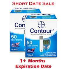 Contour Test Strips 100ct - Short Dated - 1 Month