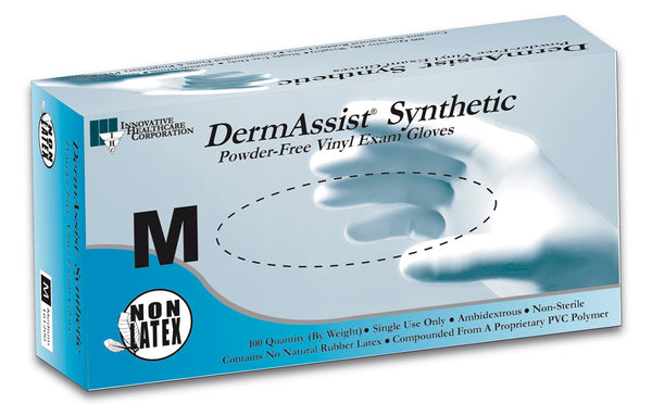 DermAssist Vinyl Exam Gloves – Series 161