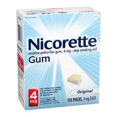 Nicorette Gum - 4mg - Original 110ct