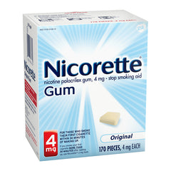 Nicorette Gum - 4mg - Original 170ct