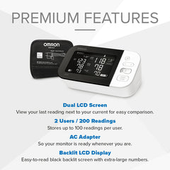 Omron BP7450 Premium Features
