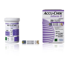 Accu-Chek Inform II Test Strips vial