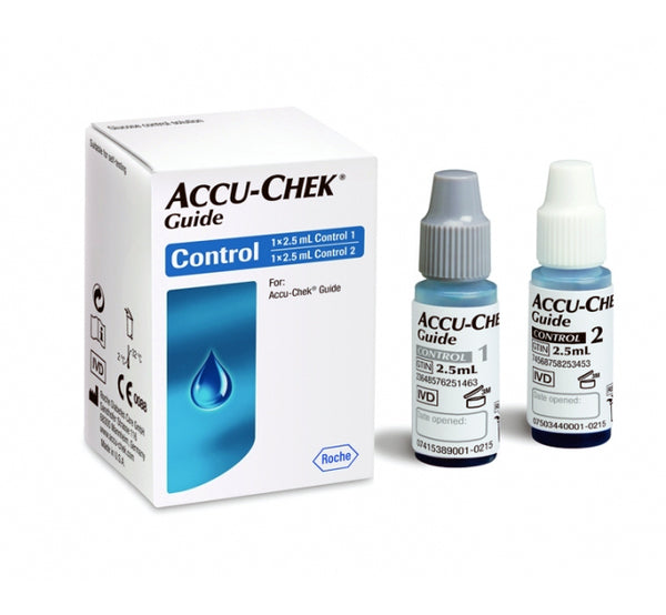 Accu-Chek Guide Glucose Control Solution Level 1 & Level 2
