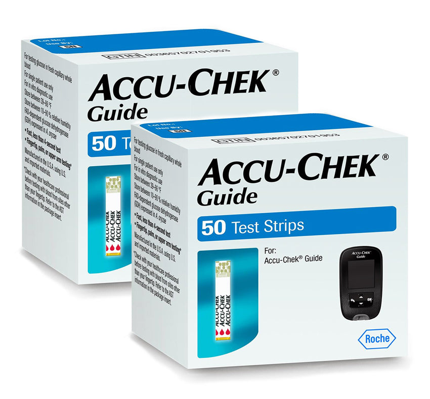 Accu-Chek Guide Test Strips 100ct