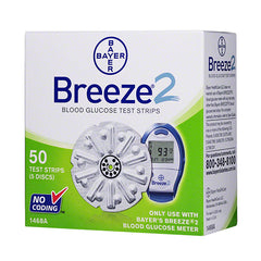 Bayer Breeze 2 Test Strips