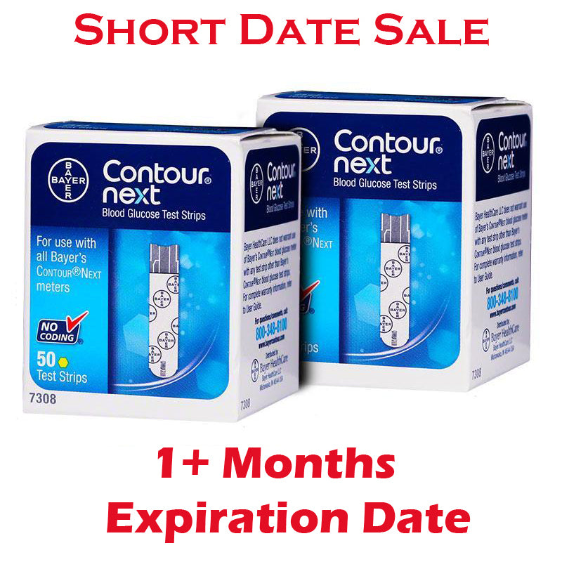 Contour Next Test Strips 100ct - Short Dated - 1 Month