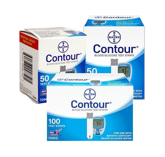 Contour Glucose Test Strips 200ct