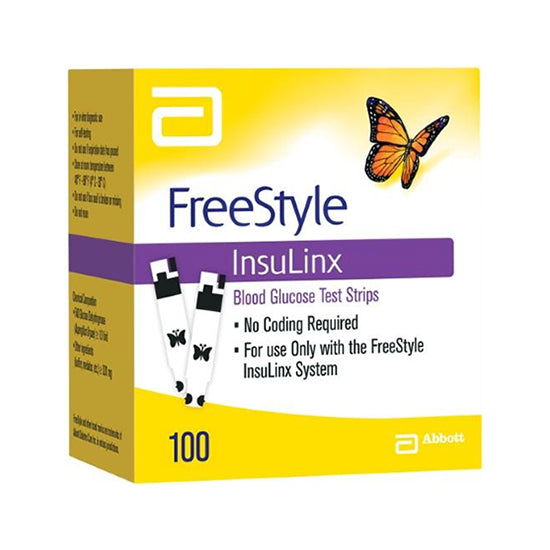 FreeStyle InsuLinx Test Strips 100ct
