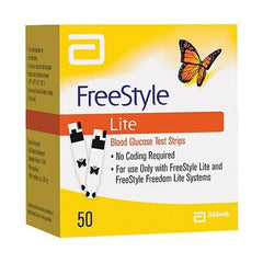 Freestyle Lite Test Strips 50ct