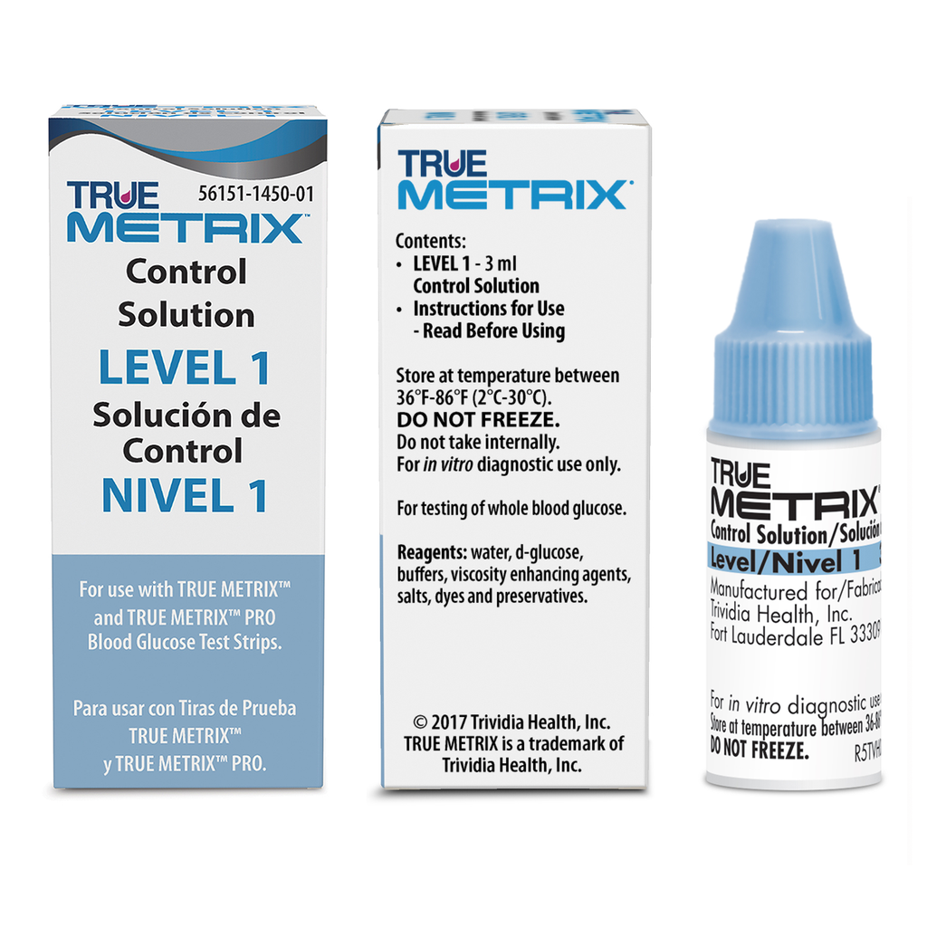 TRUE Metrix Control Solution - Level 1