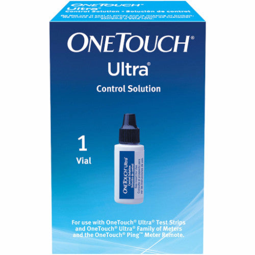 One touch ultra control solution vial diabetic warehouse