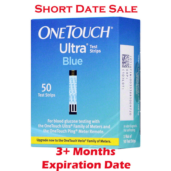 One Touch Ultra Test Strips 50ct - Short Dated