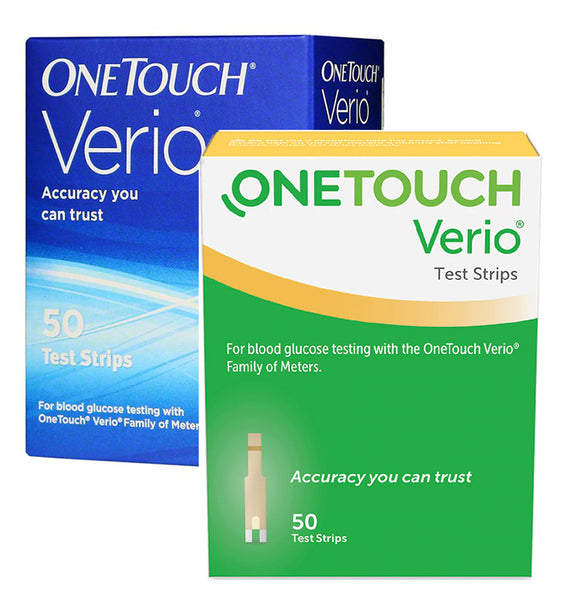 One Touch Verio Test Strips 50ct