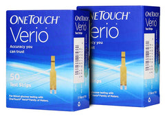 One Touch Verio Test Strips 100ct
