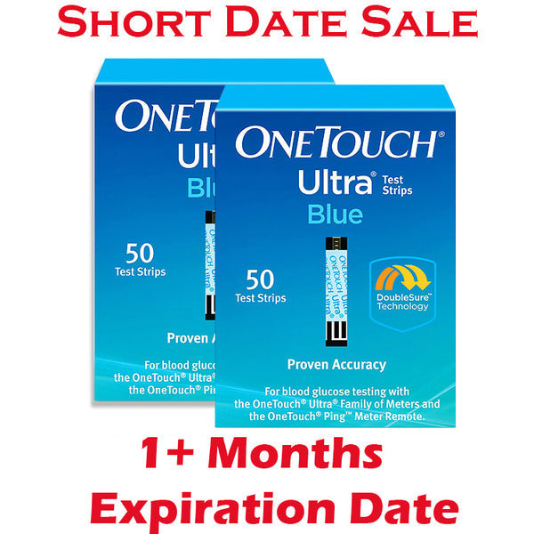 One Touch Ultra Test Strips 100ct - Short Dated - 1 Month