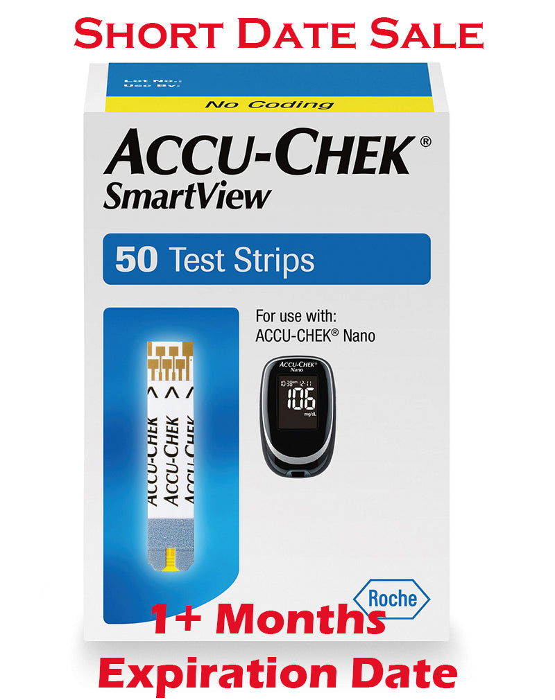 Accu-Chek SmartView Test Strips 50ct - Short Dated - 1+ Month
