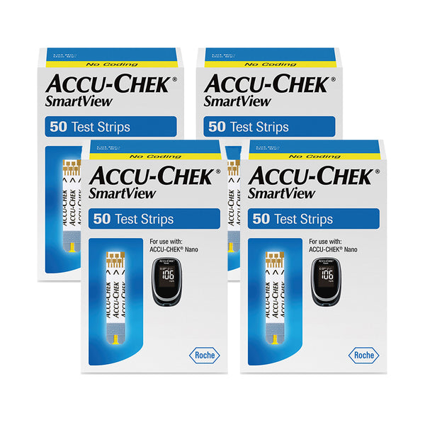 Accu-Chek SmartView Test Strips 200ct
