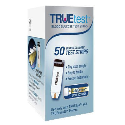 TRUEtest Glucose Test Strips
