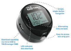 TRUE METRIX GO Meter Features