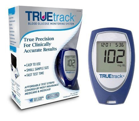 TRUEtrack Blood Glucose Meter Kit