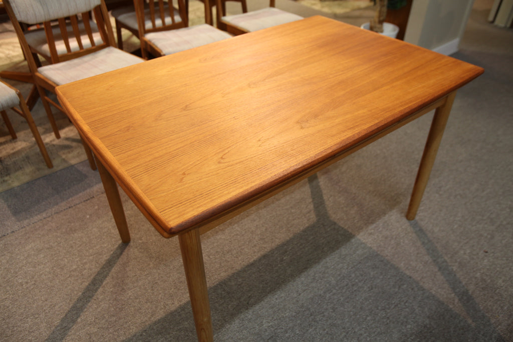 "Danish Teak Extension Table (48"" x 32.5"") or (84"" x 32.5"")"