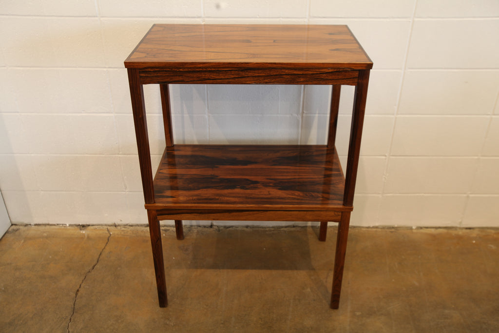 "Rare Rosewood End Table (28.25"" x 17.75"" x 19.75""H)"