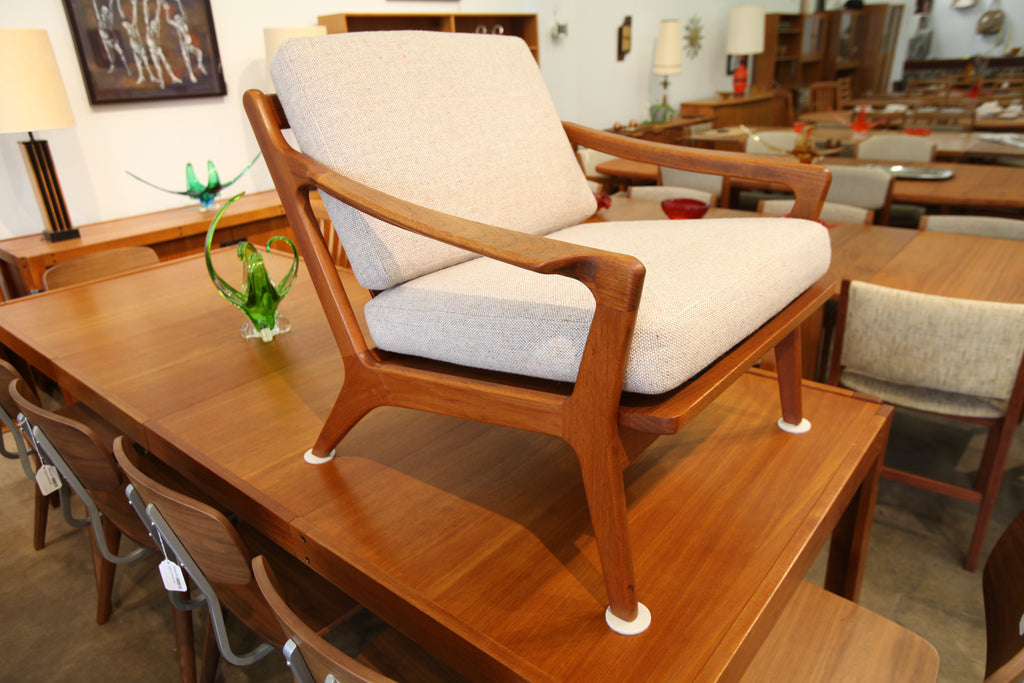 Beautiful Vintage Danish Teak Lounge Chair