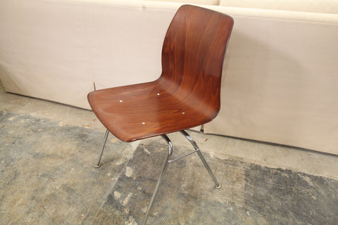 "Vintage Rosewood Pagholz Bentwood Chair (18.5""W x 30.5""H x 20""D)"