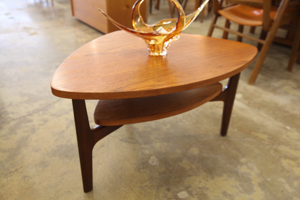 "Vintage Teak Side Table by RS Associates (32.5""x23.5""x17.75""H)"