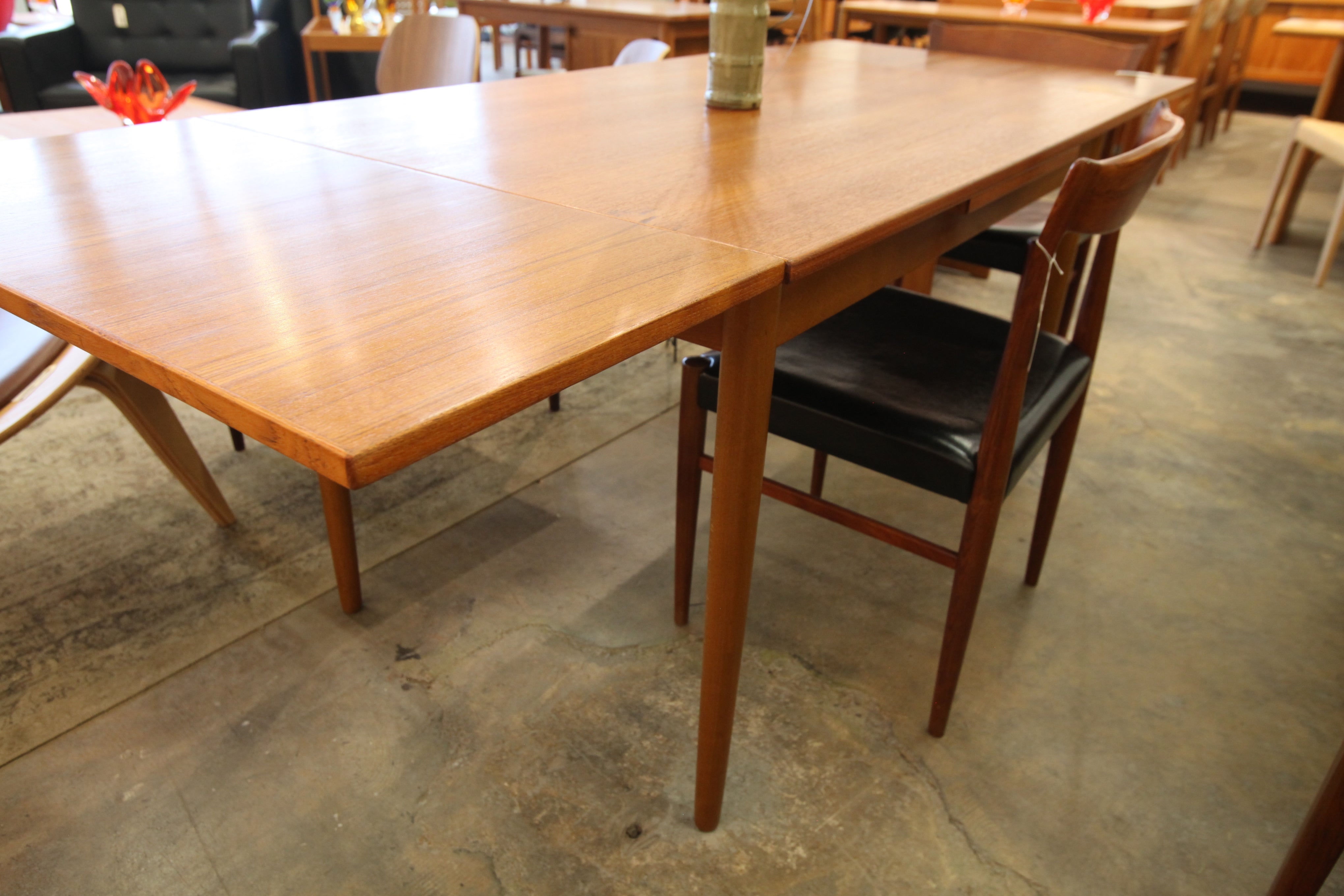 "Vintage Danish Teak Extension Dining Table (79"" x 32"") or (48"" x 32"") 29""H"